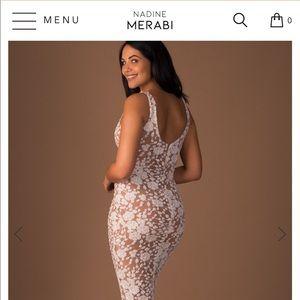 Nadine Merabi Nyla Maternity Dress